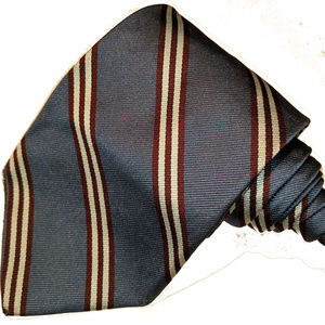 Brooks Brothers brown striped tie
